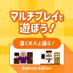 Minecraft【統合版】マルチプレイで遊ぼう!(遠くの人と遊ぶ)